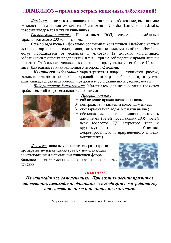 Лямблиоз у детей: признаки, симптомы, лечение 90
